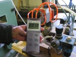 Fark Basınç Ölçüm Cihazı PCE-P15 / 30 / 50 ile basınç ölçümü yaparken