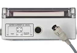 Termo-Higrometre PCE-G1A'nın analog bağlantıları