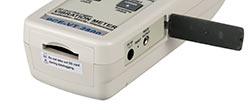 Makina analiz cihazı PCE-VT 2800'in bağlantıları
