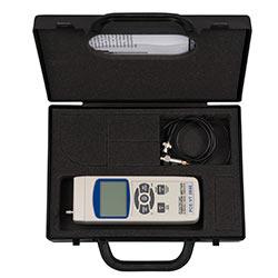 Teslimat dahil olan taşıma çantası ile Makina analiz cihazı PCE-VT 2800