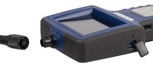 Endoskopi kamera PCE-VE 360N'un bağlantısı