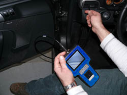 Araç Test Cihazı PCE-VE 320N hava kanalındaki kullanımı